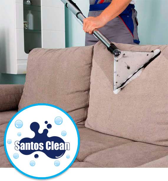 Limpeza de Sofás em Santos